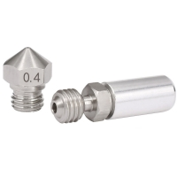 Best Stainless Steel MK10 All Metal Hotend Upgrade Kit 1.75mm 0.4mm Nozzle wholesale