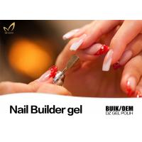 Best Durable Pink Builder Gel For Nails , Healthy Nail Salon Gel Nail Polish wholesale