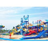 Best Theme Park Aquatic Playground Equipment Outdoor Fiberglass Material wholesale