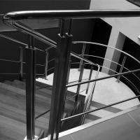 Best Cheap Price Indoor Removable pvc Stairs Top Handrail Stainless Steel Rod Railing wholesale