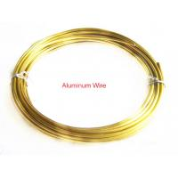 Best Handmade Jewelry Accessories Gold Shamballa Cord Aluminum Wire 2mm Diameter wholesale
