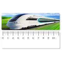 Best 5.4x31cm High - Speed Train 3D Lenticular Ruler PET Material For Student Stationery wholesale