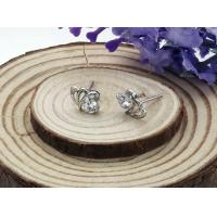 2014 new fashion jewelry platinum Plating stainless steel earrings for women Elegant-01