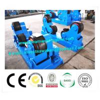 Self Aligning Rotator / Pipe Weld Rotator With PU Roller For Boiler Industry