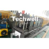 Best 0-15m/min Forming Speed Cold Roll Forming Machine For Making Top Hat Channel , Furring Channel wholesale