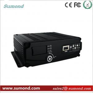 Best 4CH 1080P AHD Digital Video Recorder GPS Car DVR SD Card CCTV HD Vehicle Camera wholesale