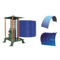 Best Roof Steel Tile Roll Bending Machine Automatic Curving Radius 500mm wholesale