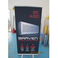 Best Table Top Retractable Display Banners Signs For Exhibitions / Shop Promotions wholesale