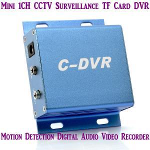 Best Mini C-DVR 1CH CCTV Surveillance TF Card DVR Digital Audio Video Recorder Motion Detection wholesale