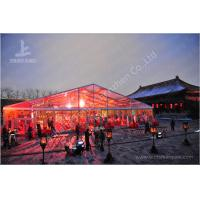 800 Seater Fabric Gala Dinner Outdoor Party Tents Clear RoofMarquee 25X50 M