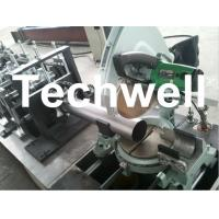 Best Round Rainspout Roll Forming Machine for Rainwater Downpipe, Downspout Drainage wholesale
