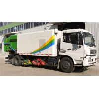 Best High Pressure Washing Road Sweeper Truck Special Purpose Vehicles With 8tons wholesale
