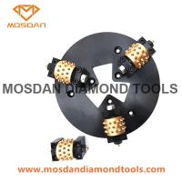 Best HTC 270mm Bush Hammer Tools Plate with 3 Rollers wholesale