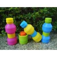Best Travel Durable Reusable With Leak -  proof Lid Foldable Silicone Drinking Bottle wholesale