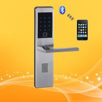 Best Residential Smart Wireless Keypad Door Lock With Ultra Thin Panel And Handle wholesale