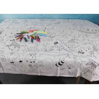 Best Double Soft Biodegradable Disposable Paper Tablecloth For Children Drawing wholesale