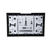 Best 8X Enhanced ISO12233 high resolution test chart iso test chart camera test charts for 21 Megapixel camera 4000 lines wholesale