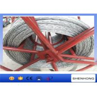 China High Strength Anti Twist Wire Rope 20 mm for Transmission Line Stringing on sale