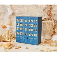 Best Custom Printed Gift Cardboard Packaging Chocolate Advent Calendar Box with little drawers wholesale