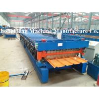 Best 1/2 PPGI Panel Roofing Sheet Forming Machine With Auto stacker wholesale