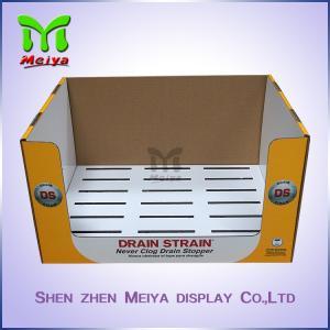 Best Store Retailed Mobile Phone Shell Counter Cardboard Display Box Gloss / Matt Lamination wholesale
