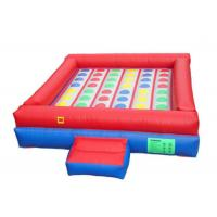 Best 0.55mm PVC Inflatable Sports Arena , Giant Inflatable Games High Tensile Strength wholesale