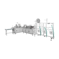 Best PLC Control One Time Surgical Face Mask Machine wholesale