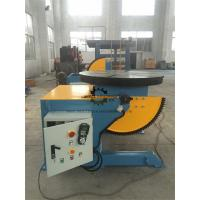 Quality Elbow Rotary Welding Positioner Table Foot Pedal 1000KG Tilting  Capacity wholesale