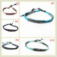Best OEM Handmade Leather Cord Wrap Bracelet, Wrap Bracelet For Men, Women, Boy, Girl wholesale