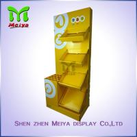 Best Eye-catching color Cardboard Floor Displays rack for umbrella waterproof wholesale