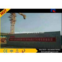 Quality Self - Erecting Hammerhead Tower Crane Max Height 180M Schneider Electric System wholesale