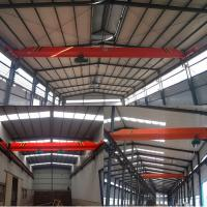 LD type 5 t - 25.5 m electric hoist single girder crane/crane