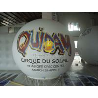 Best White Inflatable Advertising helium balloon with UV protected printing for Trade show wholesale