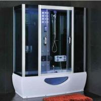 Cheap Modern Rectangular Shower Enclosure With Sliding Door Steam Room And Shower for sale