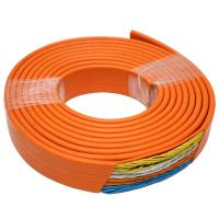 Flat Flexible Traveling Cable for Elevator with CE certificate TVVB 48x0.75 with Special PVC Jacket
