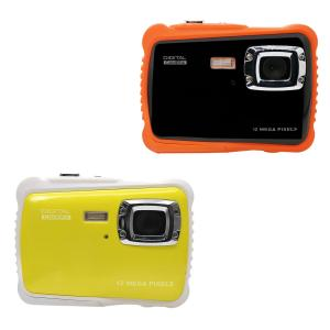 China 2.0 TFT LCD 12MP 720P Underwater Digital Camera on sale