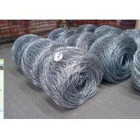 Best Hot Dipped Galvanized Flat / Concertina Barbed Wire Reverse and Normal Twist wholesale