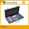 Cheap 6 Colors Professional Poker Chips Sets For Casino 300 Pcs Round Corner wholesale