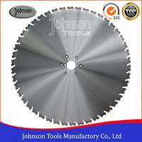 32inch Diamond Circular Saw Blade for reinforced concrete cutting, 5mm diamond thickness, 12mm height, 60mm center hole.