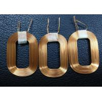 Best Gold Wireless QI Transmitter Coils , Multilayer Air-core Coil For Iphone 5 / 5s wholesale