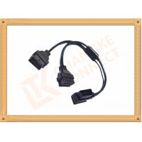 Best OBD 16 Pin Automotive Extension Male To Female Cable Y Type CK-MF16Y02L wholesale