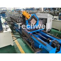 Best Guiding Column Forming Structure Hat Profile Cold Roll Forming Machine For 15KW Motor Power wholesale