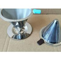Best Paperless Pour Over Coffee Filter , Dripper Stainless Steel Reusable Coffee Filter wholesale