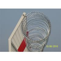 Best Hot Dipped Galvanized Razor Barbed Wire Crossed Fence BTO-22 CBT-65 wholesale