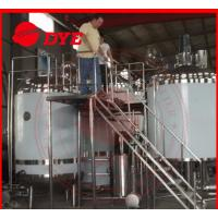 Best Pipe Welding Semi-Automatic Beer Brewing Tanks Mirror Polish Inner Surface wholesale