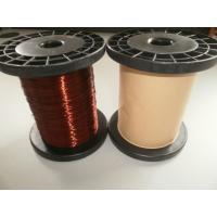 Best Polyurethane AWG Ultra Fine Flat Super Enamelled Copper Wire For Winding wholesale