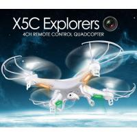 Best X5C 2.4GHz 4CH 6-Axis GYRO RC Quadcopter Drone Toy 2MP Fly Camera Recorder 360° Eversion wholesale