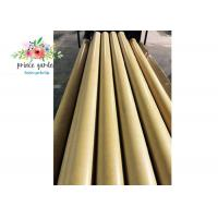 Cheap Laminated Round Paper Core Tube / 3520 Electrical Insulation Paper Phenolic Tube for sale