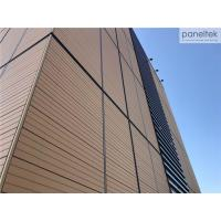 Buy cheap Architectural Ventilated Facade Cladding Systems With UV / Wind Resistance from wholesalers