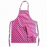 Best Apron, Made of PVC/Polyester/Cotton, Used for Household Cooking. wholesale